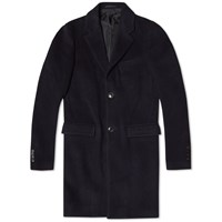 Tomorrowland Wool Chester Coat Navy