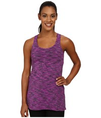 Lucy Zen Seeker Tunic Pink Dawn Spacedye Women's Sleeveless Purple