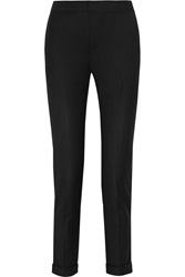 Mm6 Maison Margiela Wool Blend Twill Skinny Pants