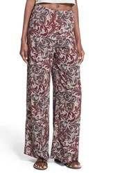 Women's Astr Mosaic Print Wide Leg Pants