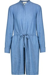 3.1 Phillip Lim Chambray Playsuit Light Blue