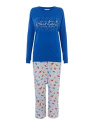 Cyberjammies Cristie Rainbow Pj Set Multi Coloured Multi Coloured