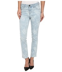 Kut From The Kloth Reese Ankle Straight Leg In Prosperous Wash Prosperous Wash Women's Jeans Blue