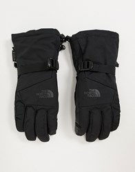The North Face Montana Etip Gore Tex Ski Gloves In Black