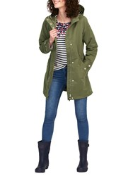 Joules Raine Waterproof Parka Grape Leaf