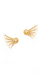 Ca And Lou Pixie Earrings Yellow Gold