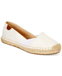 Sperry Women's Cape Espadrille Flats Women's Shoes Ivory