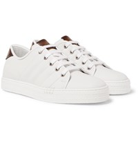 Berluti Playfield Palermo Leather Sneakers White