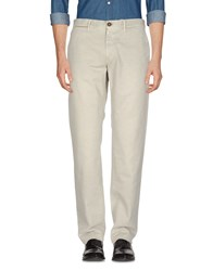 Incotex Red Casual Pants Light Grey