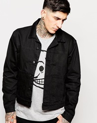 Cheap Monday Denim Jacket Type X Rinse Black Rinseblack