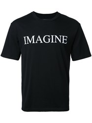 Christian Dada Imagine T Shirt Black