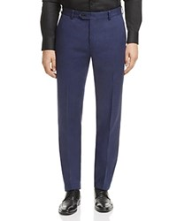 Brooks Brothers Houndstooth Slim Fit Chino Pants Open Blue