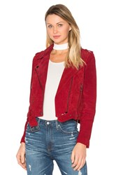 Blank Nyc Moto Jacket Red