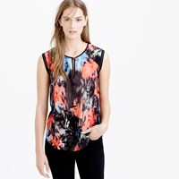 J.Crew Tall Keyhole Shell In Floral Splash