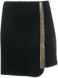 Just Cavalli Embellished Short Skirt Black