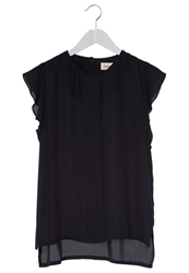 Louche Tani Top Navy Dark Blue