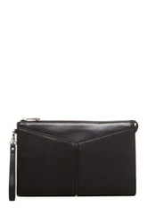 Bcbgmaxazria Zip Top Clutch Bag Black