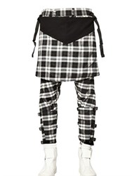 Long Clothing X Orphanage Tartan Clip Trousers