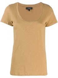 Theory Classic T Shirt Neutrals