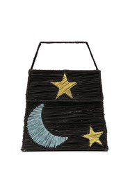 Mercedes Salazar Star Moon Tote Bag Black