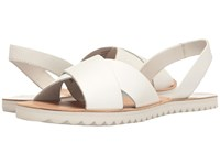 Sebago Sidney Slingback White Leather Women's Shoes