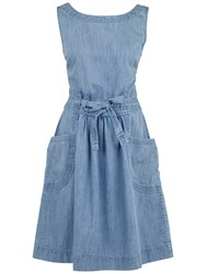 Fat Face Angie Dress Chambray