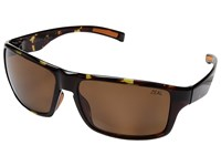 Zeal Optics Incline Tortoise W Polarized Copper Lens Athletic Performance Sport Sunglasses Brown