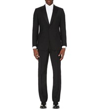 Reiss Mayfair Wool And Mohair Blend Suit Black