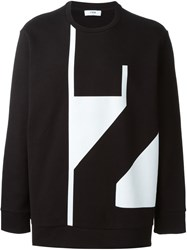 Cmmn Swdn Graphic Print Sweatshirt Black