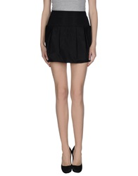 Roberto Cavalli Mini Skirts Black
