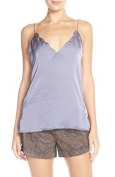 Women's Free People Scallop Satin Camisole Moonlight