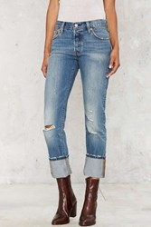 Levi's Cover Me Loose Fit Jeans Distressed