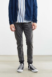 Bdg Smoke Acid Wash Skinny Jean Charcoal