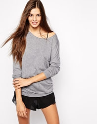 Oysho Lounge Top Grey