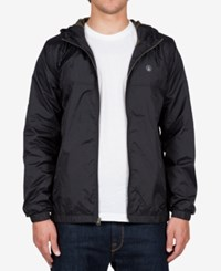 Volcom Men's Ermont Hooded Jacket Black