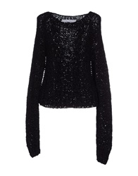 Anthony Vaccarello Sweaters Black