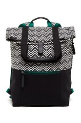 Timbuk2 Alamo Alpine Chevron Convertible Tote Pack Black