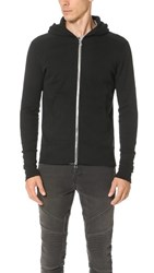 Wings Horns Base Full Zip Hoodie Black