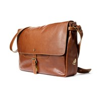 Satch And Fable Handmade Leather Messenger Bag