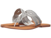 Not Rated Shark Bay Silver Women's Sandals
