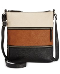 Styleandco. Style Co. Vyniisha Multi Zip Crossbody Only At Macy's Shell Luggage