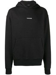 Zadig And Voltaire Sanchi Photoprint Paradise Hoodie Black