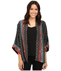 Tolani Yasmine Kimono Charcoal Women's Clothing Gray