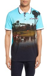 Ted Baker Men's London Dormie Golf Polo