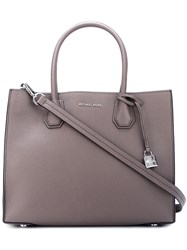 Michael Michael Kors Large 'Mercer' Convertible Tote Grey