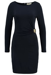 Michael Michael Kors Cocktail Dress Party Dress New Navy Gold Blue