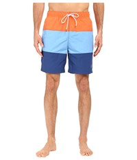 Nautica Tri Color Block Trunk Guava Men's Swimwear Pink