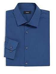Theory Blended Classic Fit Dress Shirt Velance
