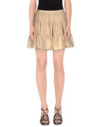 Joseph Skirts Mini Skirts Women Gold