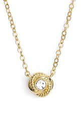 Women's Kate Spade New York 'Infinity And Beyond' Knot Necklace